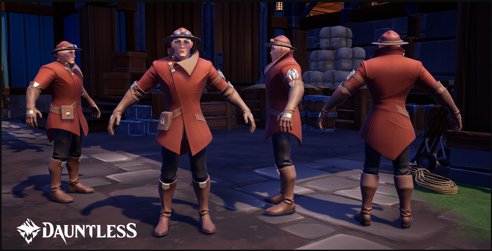 Ramsguard Scout Outfit.  Cosmetic skin sold on the MTX store.