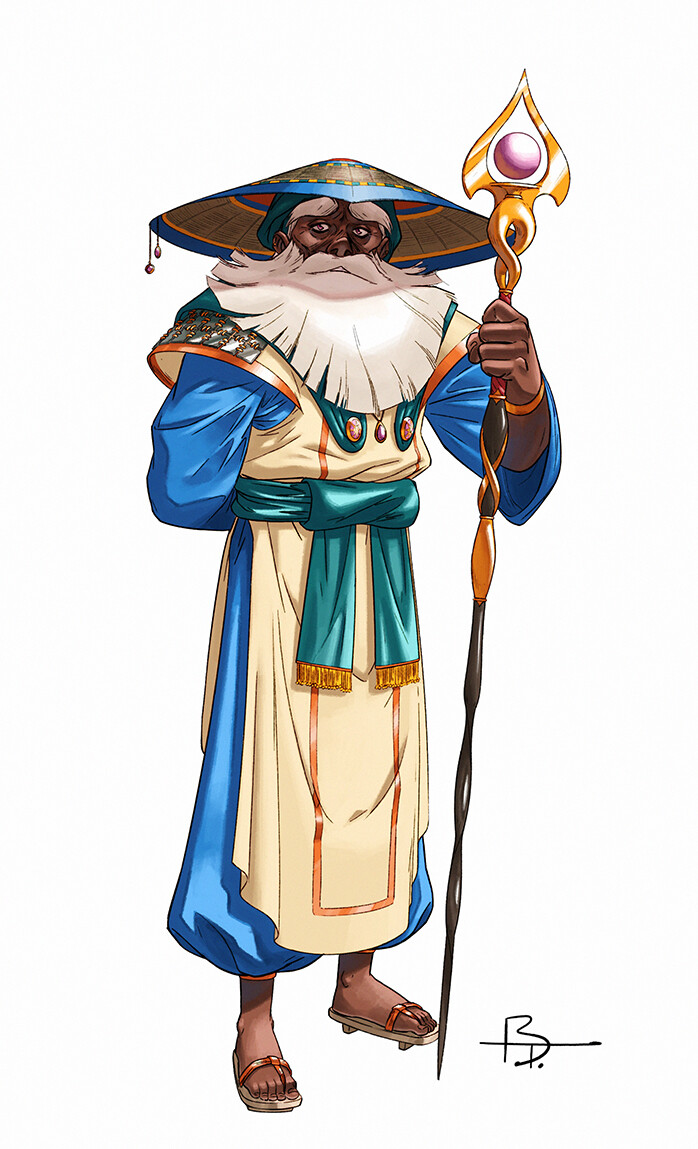 Along with Alutha and Selera, Gilus is one of the three legendary heroes who fought the Unnamed a long time ago. He was the most powerful mage of his generation.
