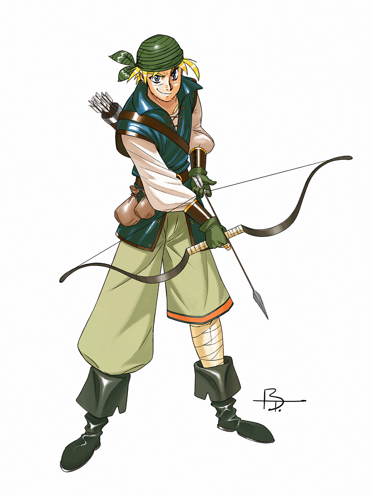 Ryan is a mercenary for hire, who seems only to care for money. His dismissive attitude toward the concerns of others and his biting sarcasm make him a difficult ally at times. However, his skill with a bow and his speed in battle are unmatched.