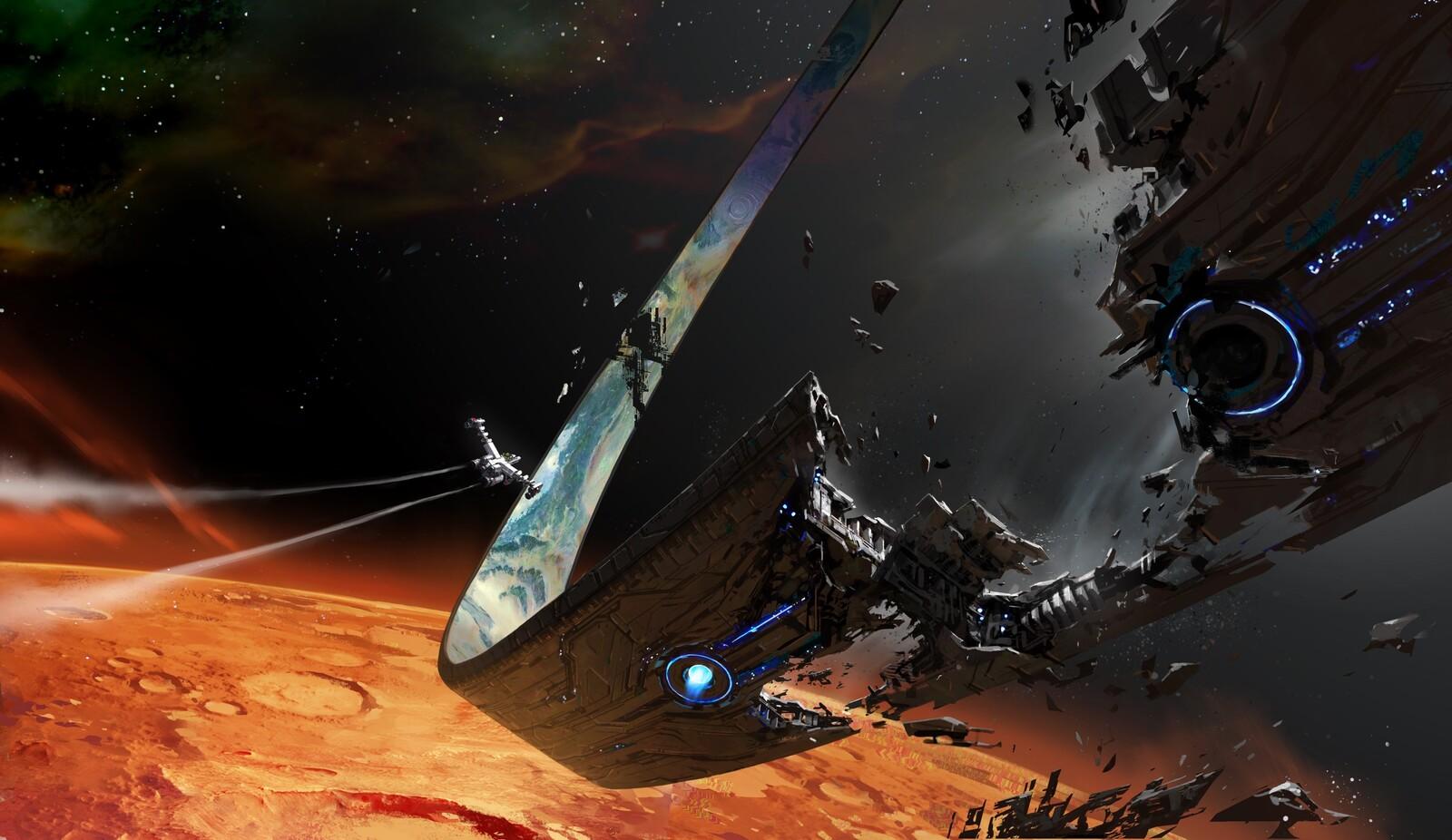 Halo: Infinite Concept, Broken Ring