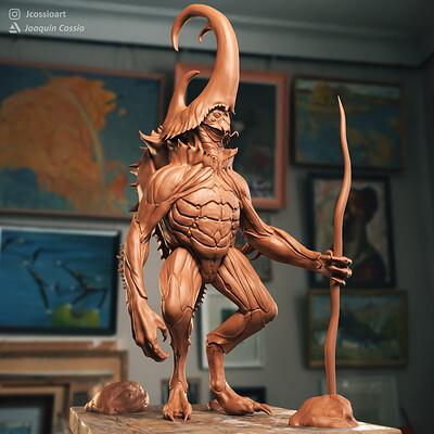 Joaquin cossio creature lookdev rgb color 00000