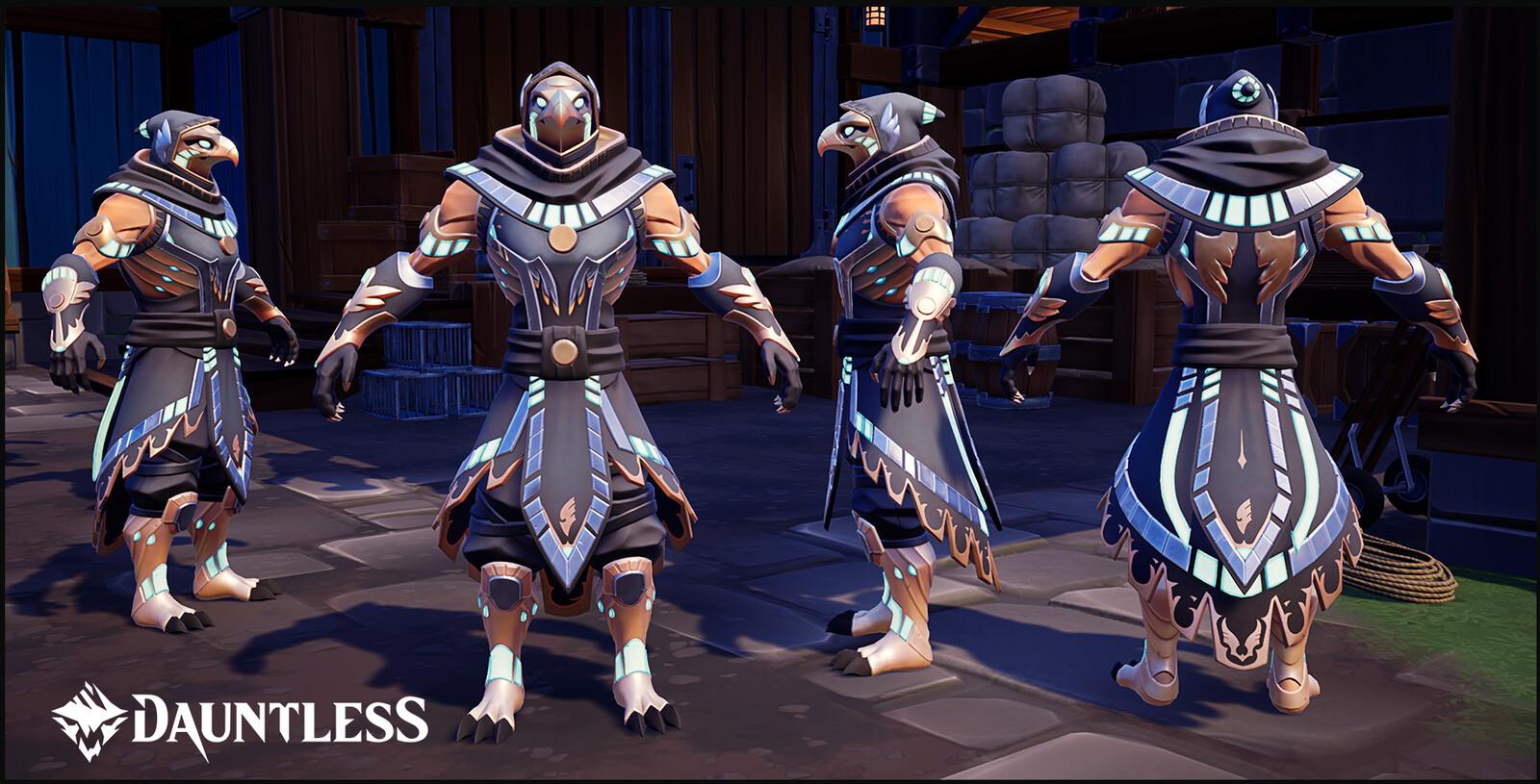 Blaze Hawk Ultra Armor Set, LVL 50 Hunt Pass reward for the season of Searing Talons.