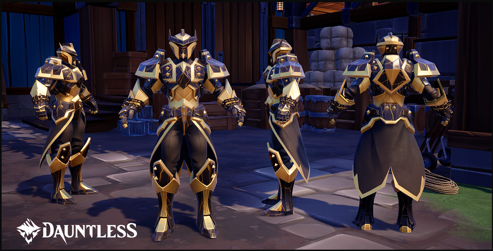 Champion's Armor.  Purchasable reward for finishing in the top 100 in the The Island of Trials (female version shown)
