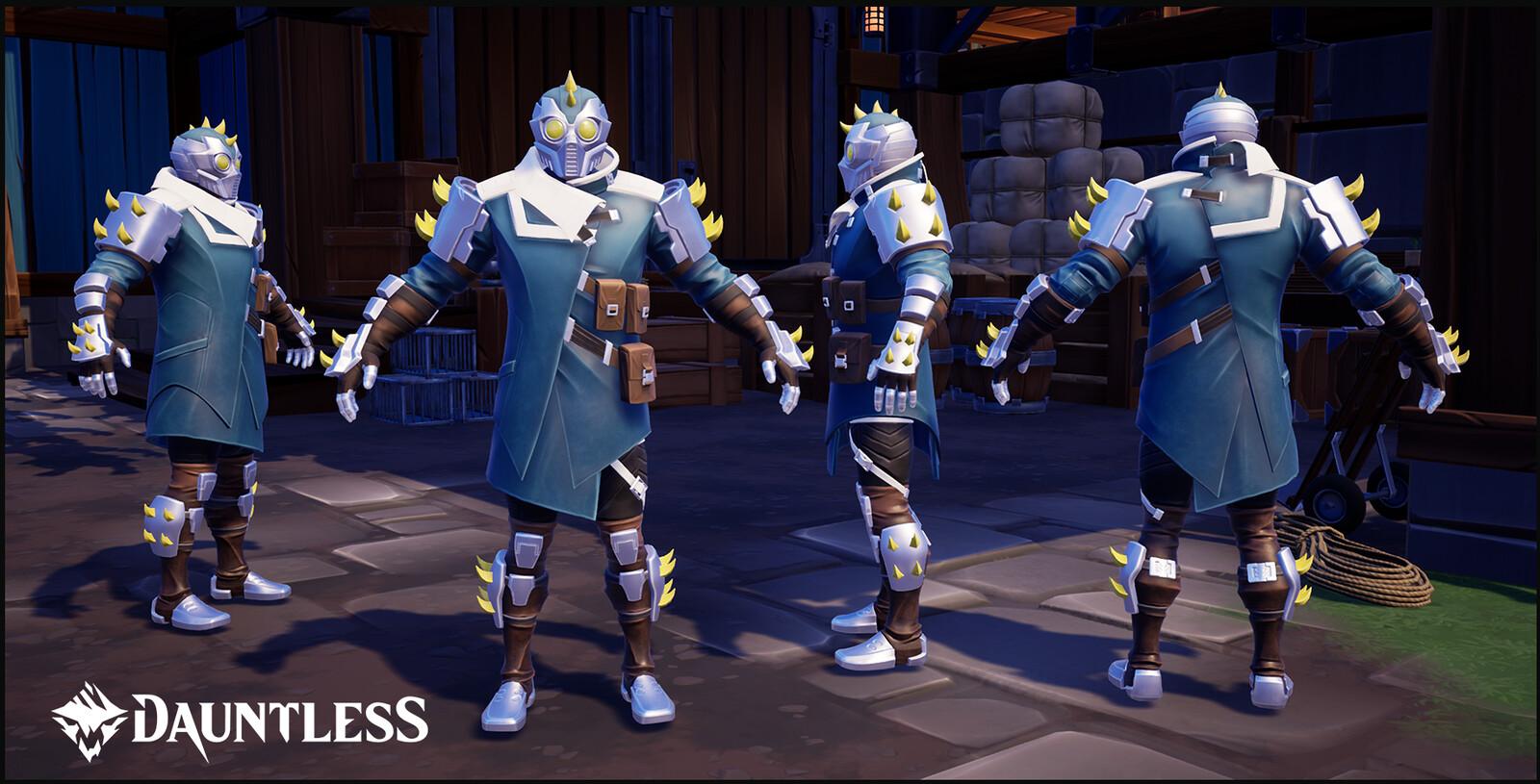 Nayzaga, Behemoth Craftable Hunt Armor.