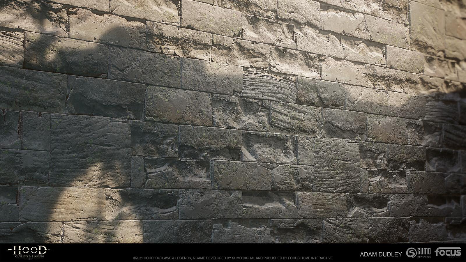 Castle Stone damage variation