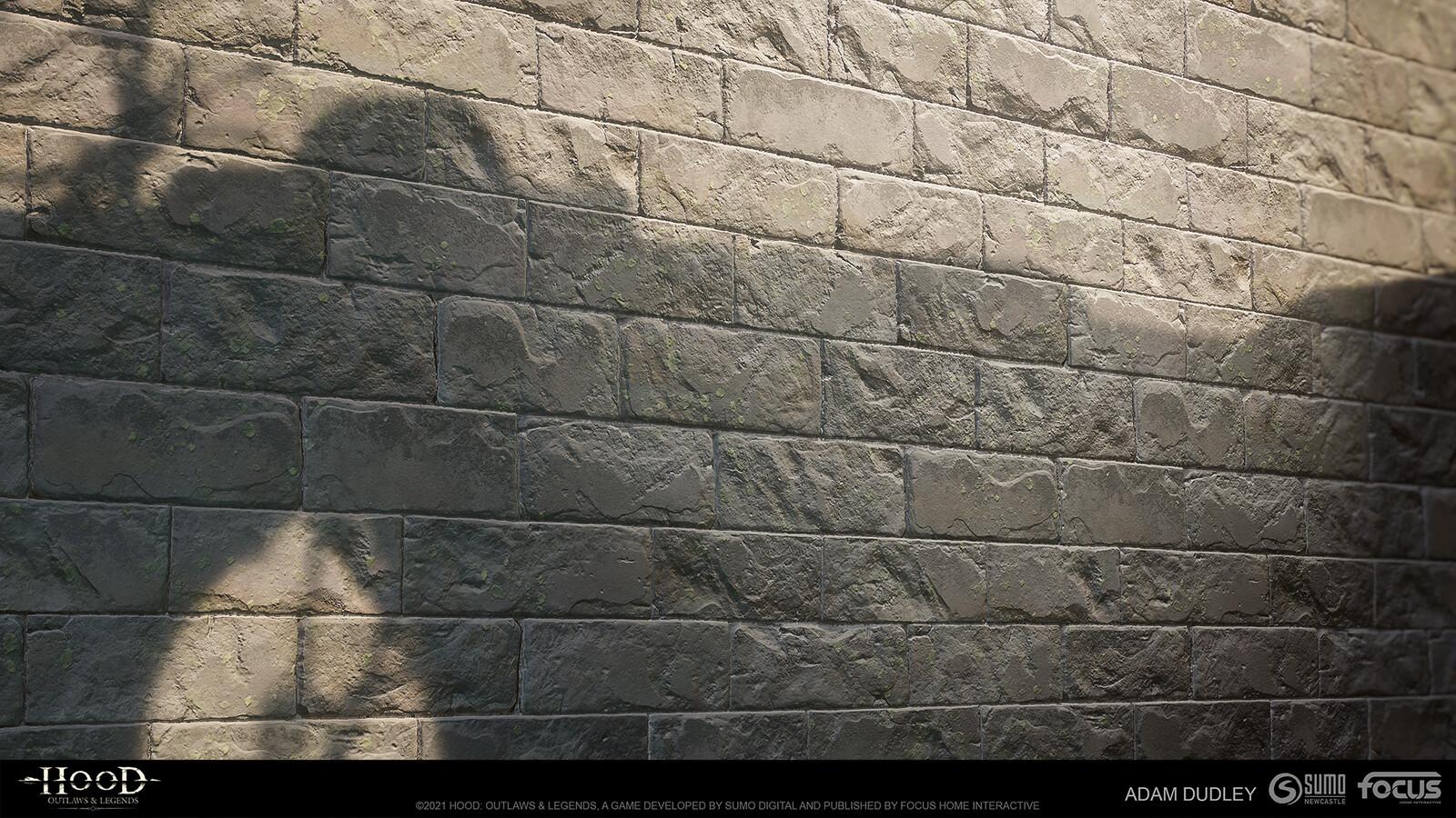 Castle Stone damage variation 02