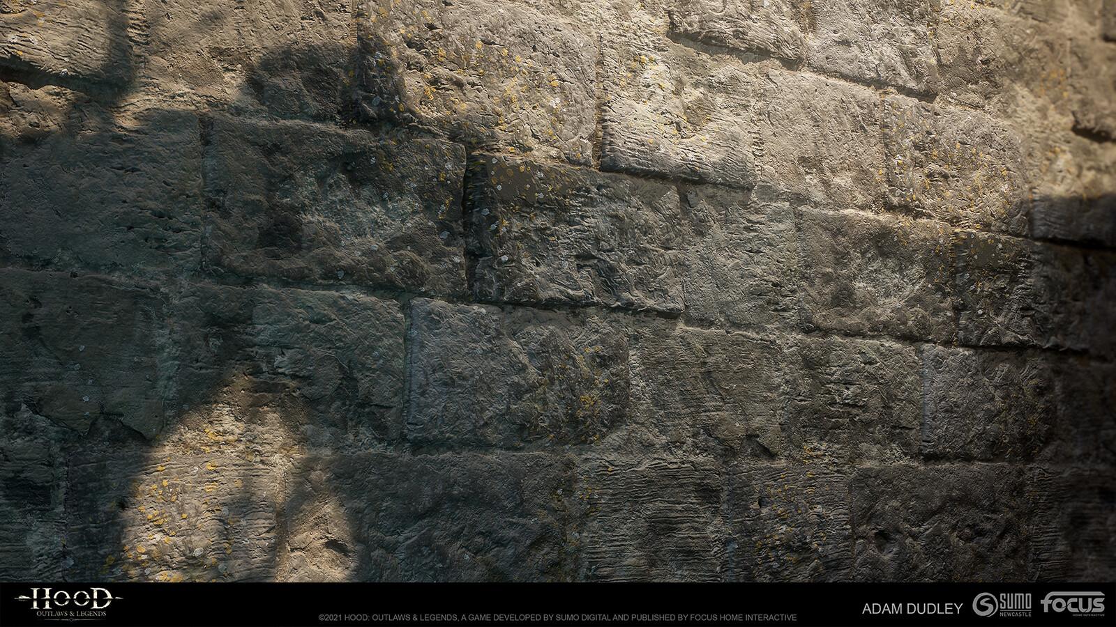 Castle Stone larger blocks - rugged