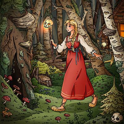 Oixxo art 2021 08 09 vasilisa illustration
