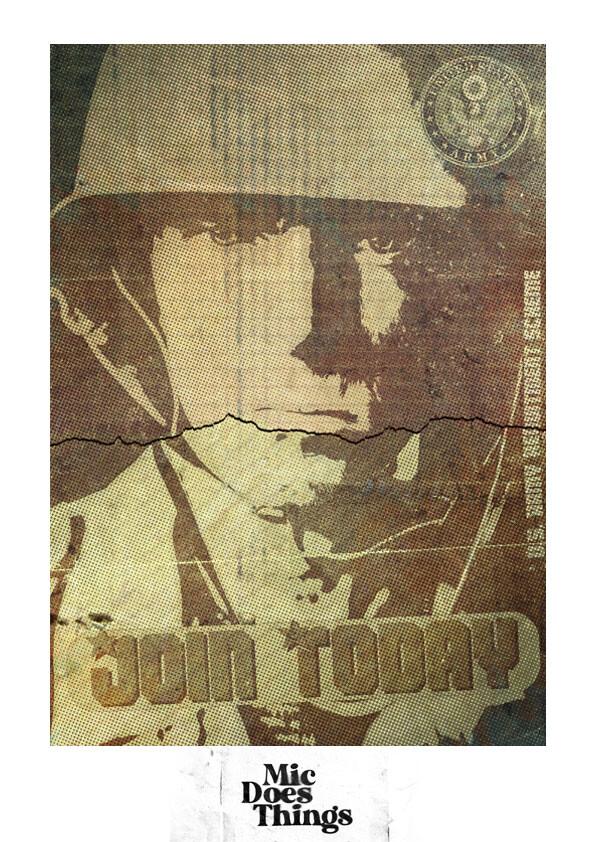 U.S. Army - Vintage Poster