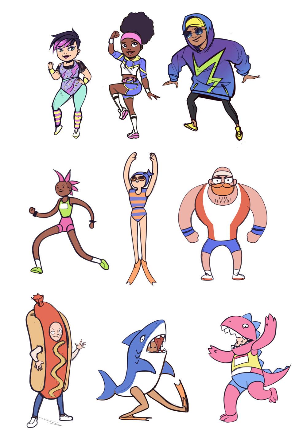 Avatar Style & Character Development