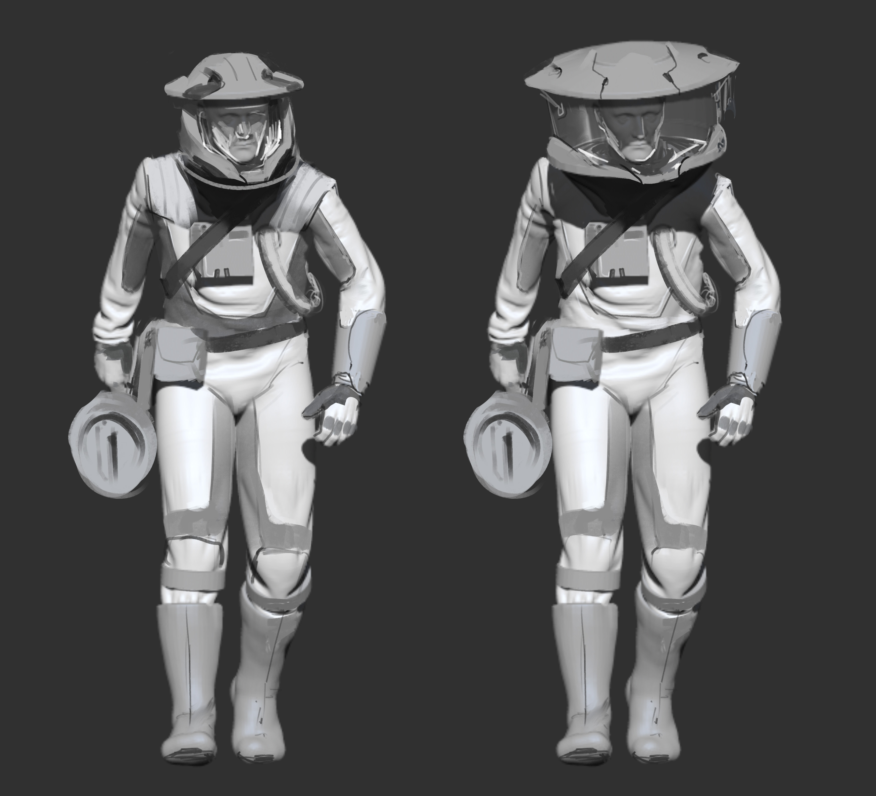 Initial Design Paintover