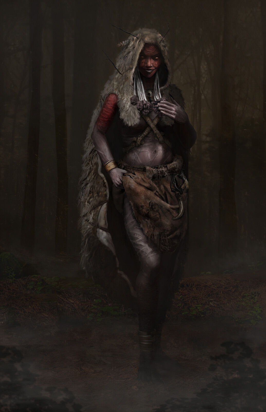 Character Concept Design - Mother