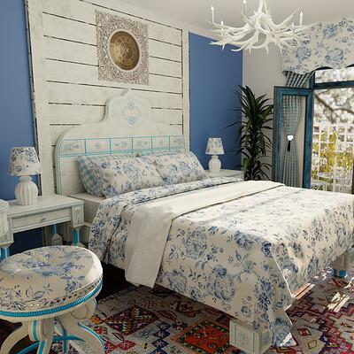 Art amin bed room 01