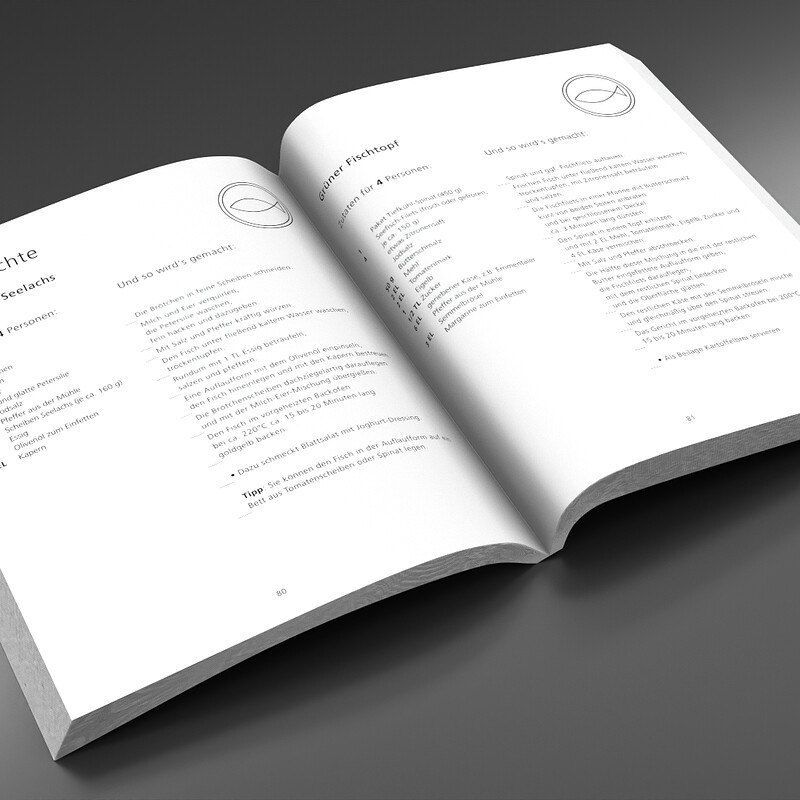 Cook Book Layout