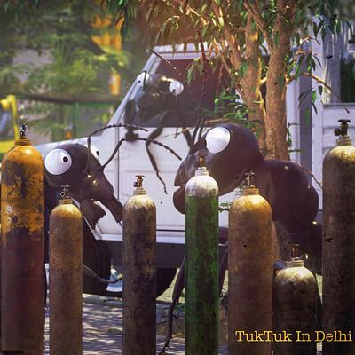 Shashwat mudgal 12 postcards from tuktuk oxygen crisis