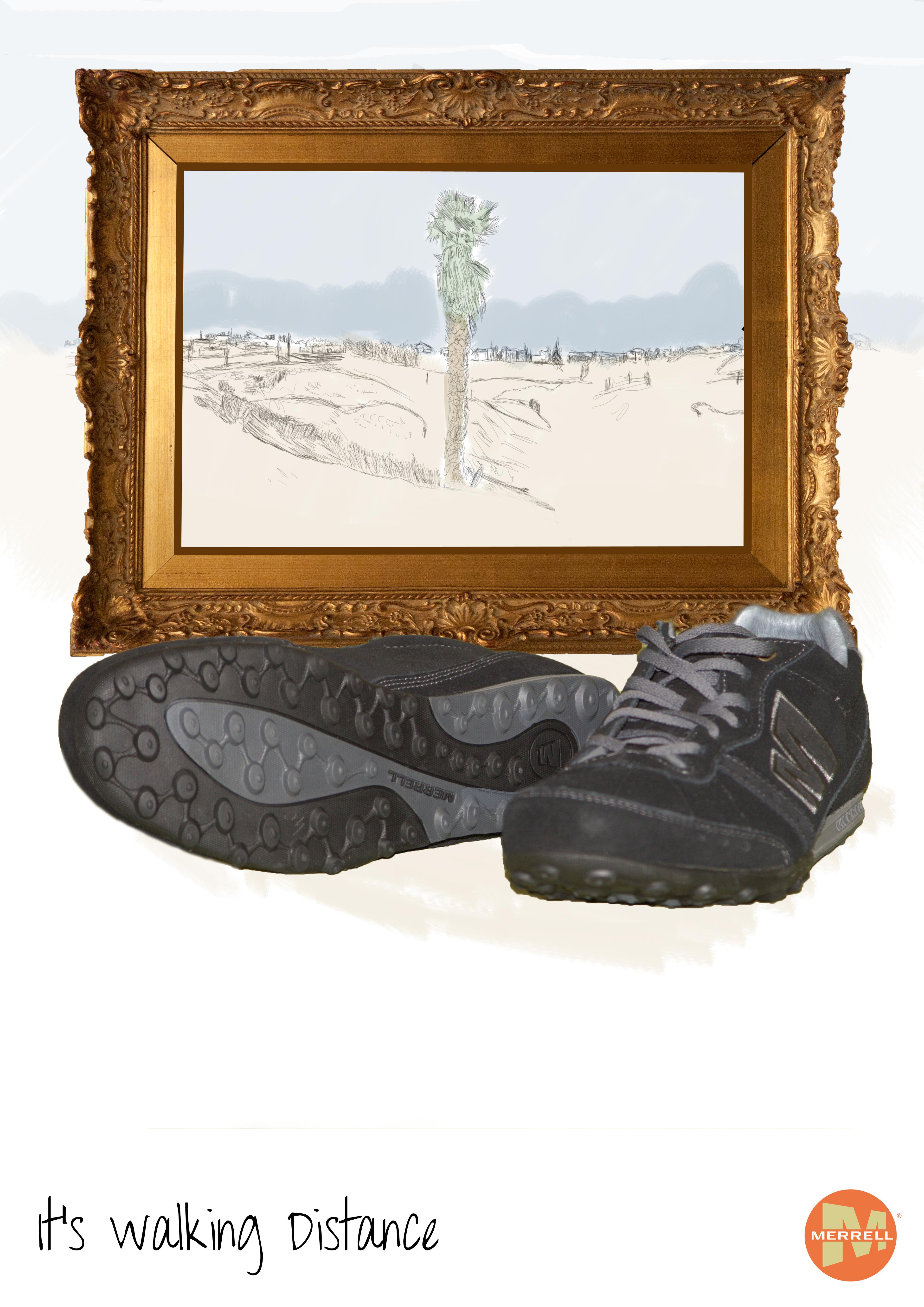 B1 Advertising Project: Merrell, Desert