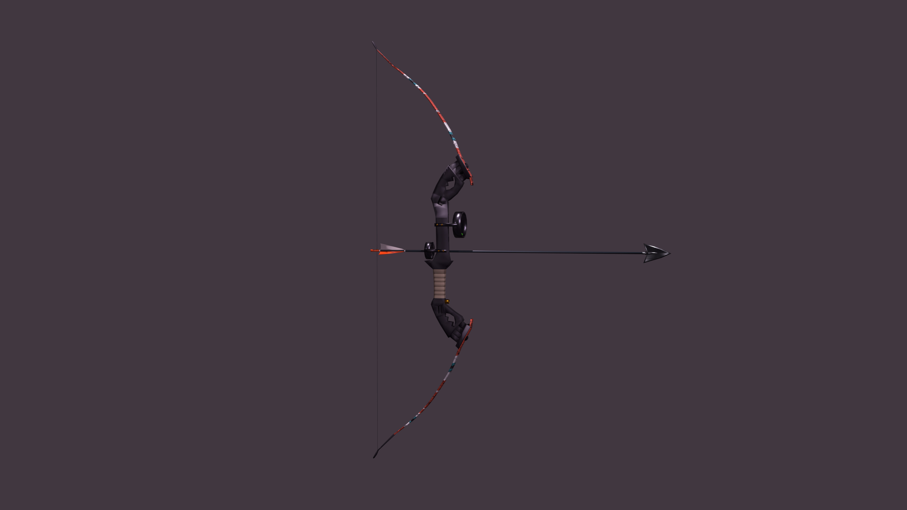 Bow, based off a Monleap Takedown Recurve bow