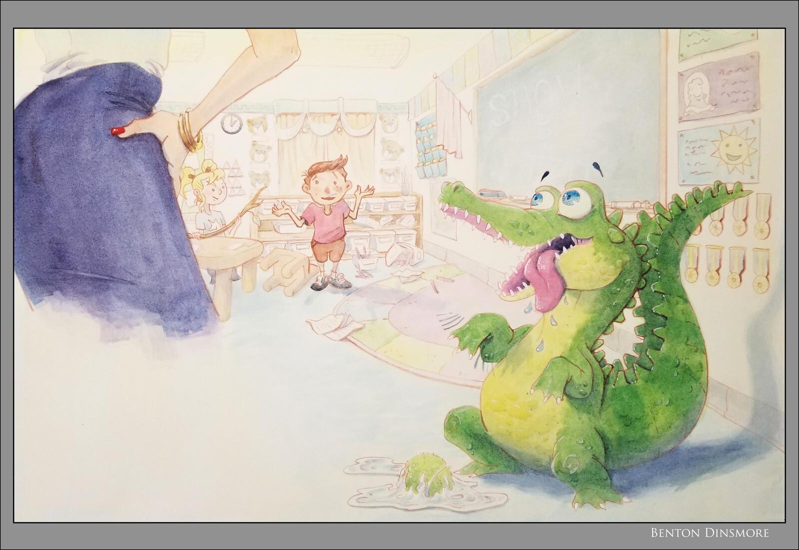 Story Book Art