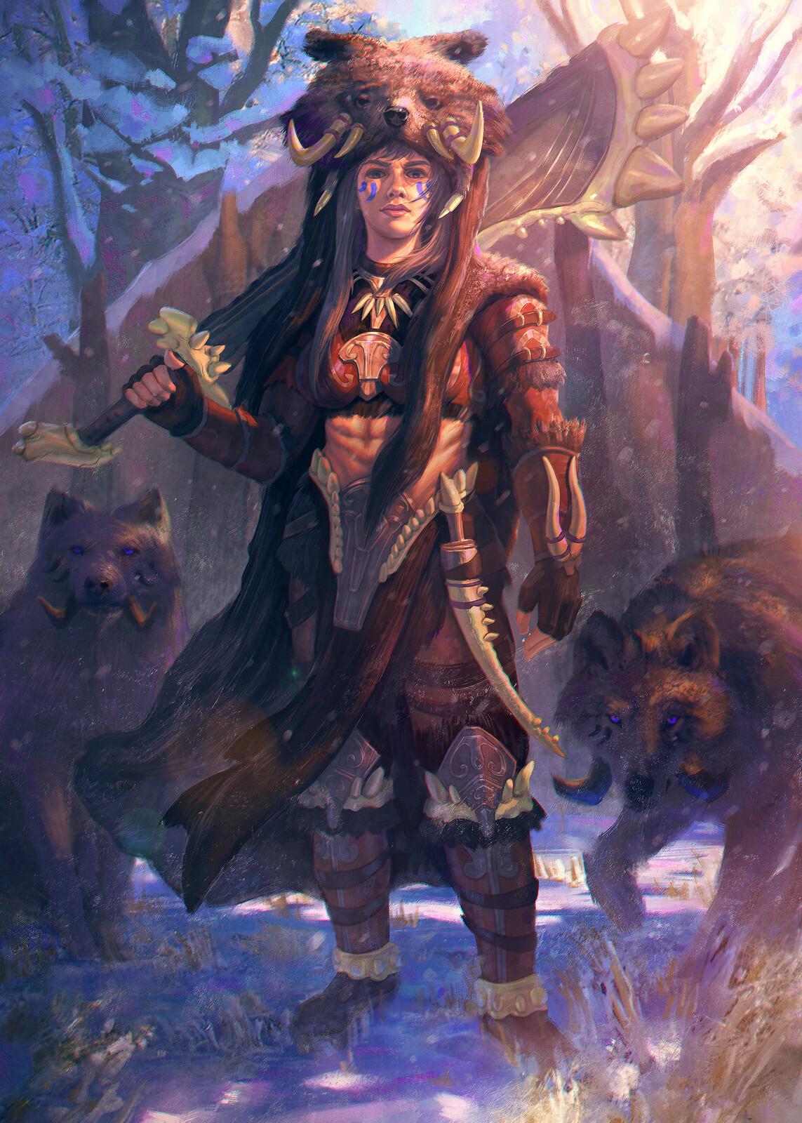 Adira, Queen of Frostbark Reach