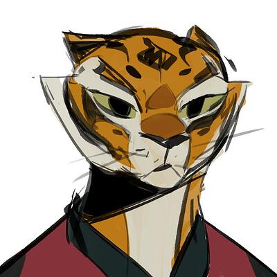 Tigress ( Kung Fu Panda )