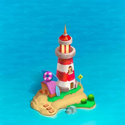 Anastasia ogoleva lighthouse
