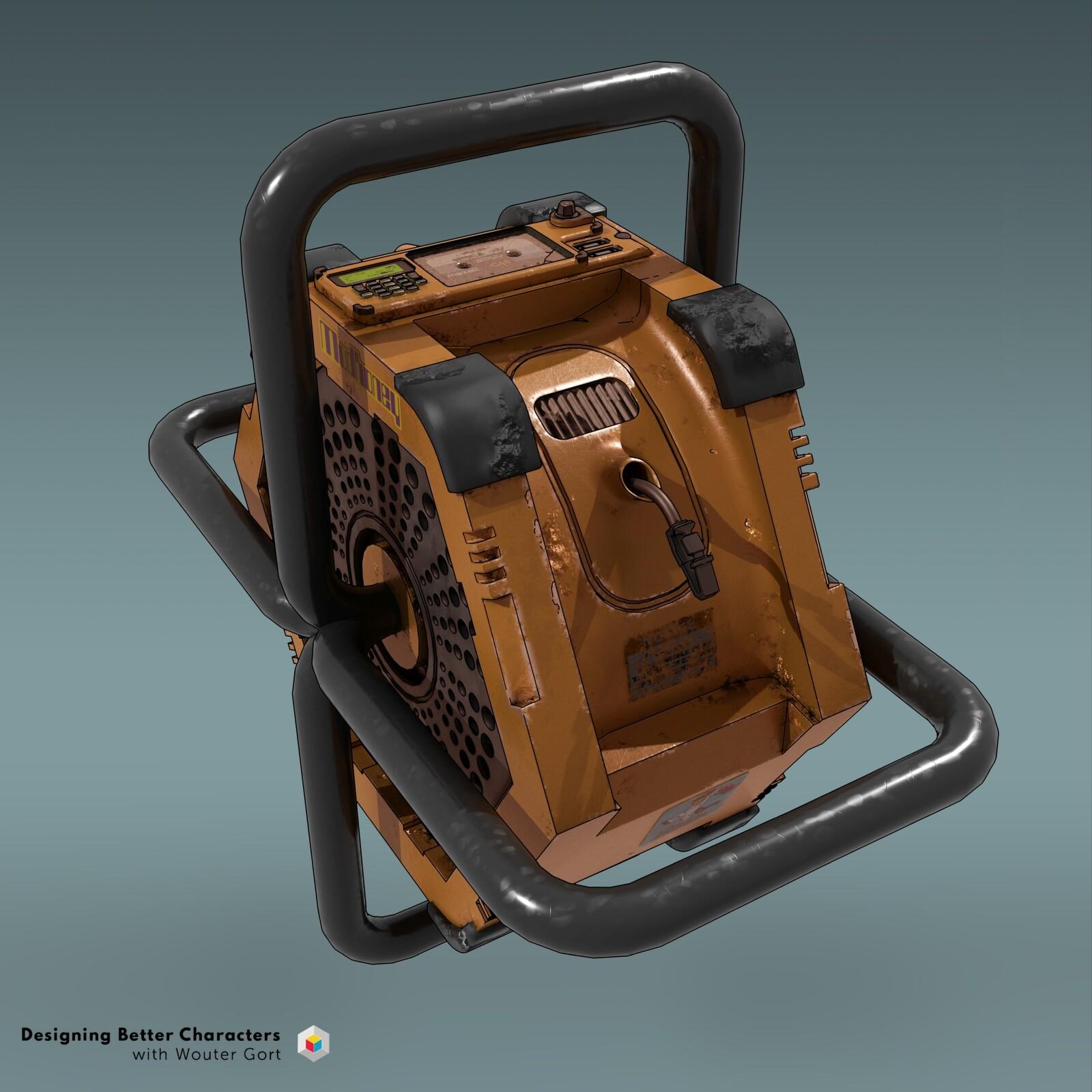 reel / winch design