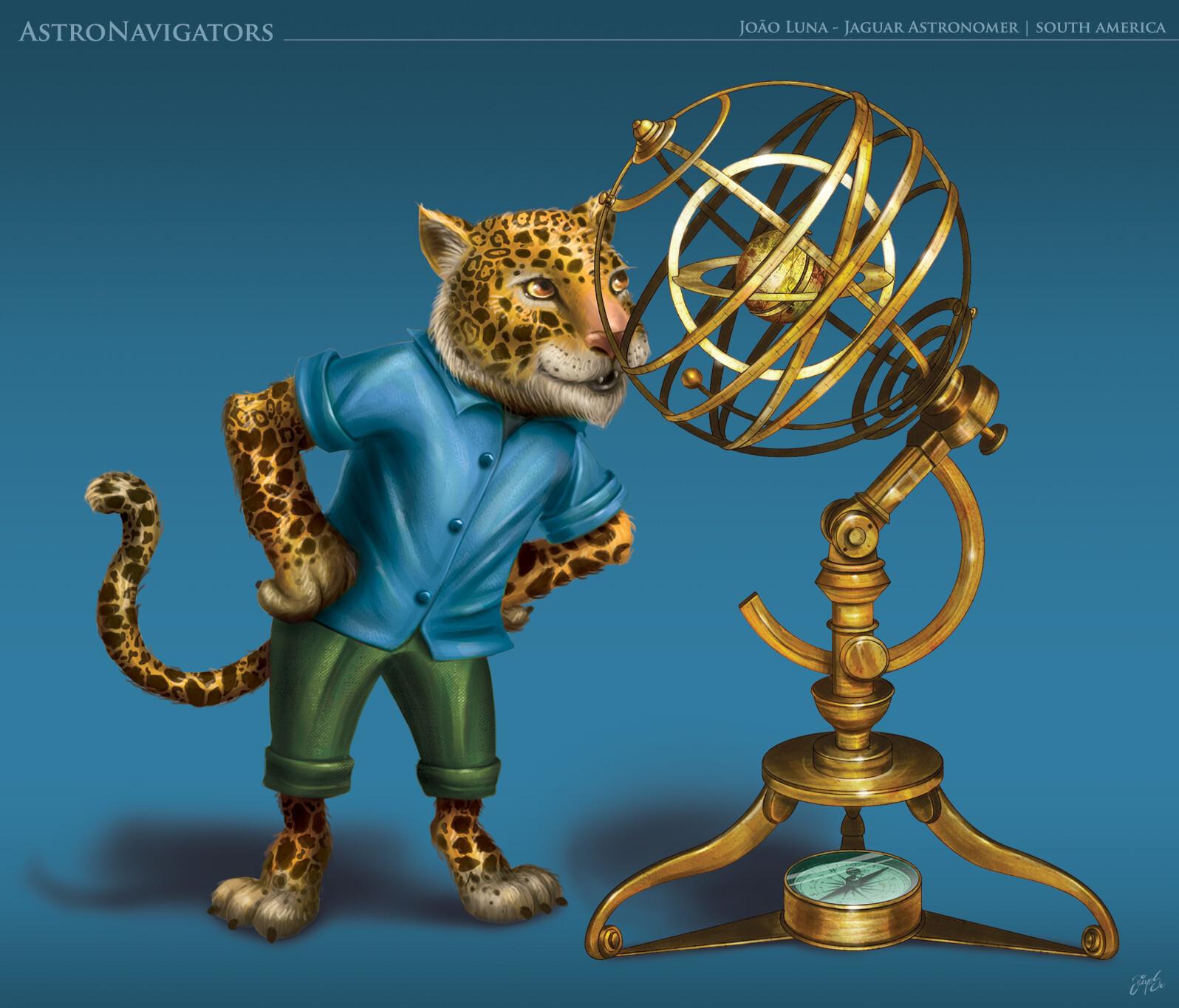 Character art - digital painting
