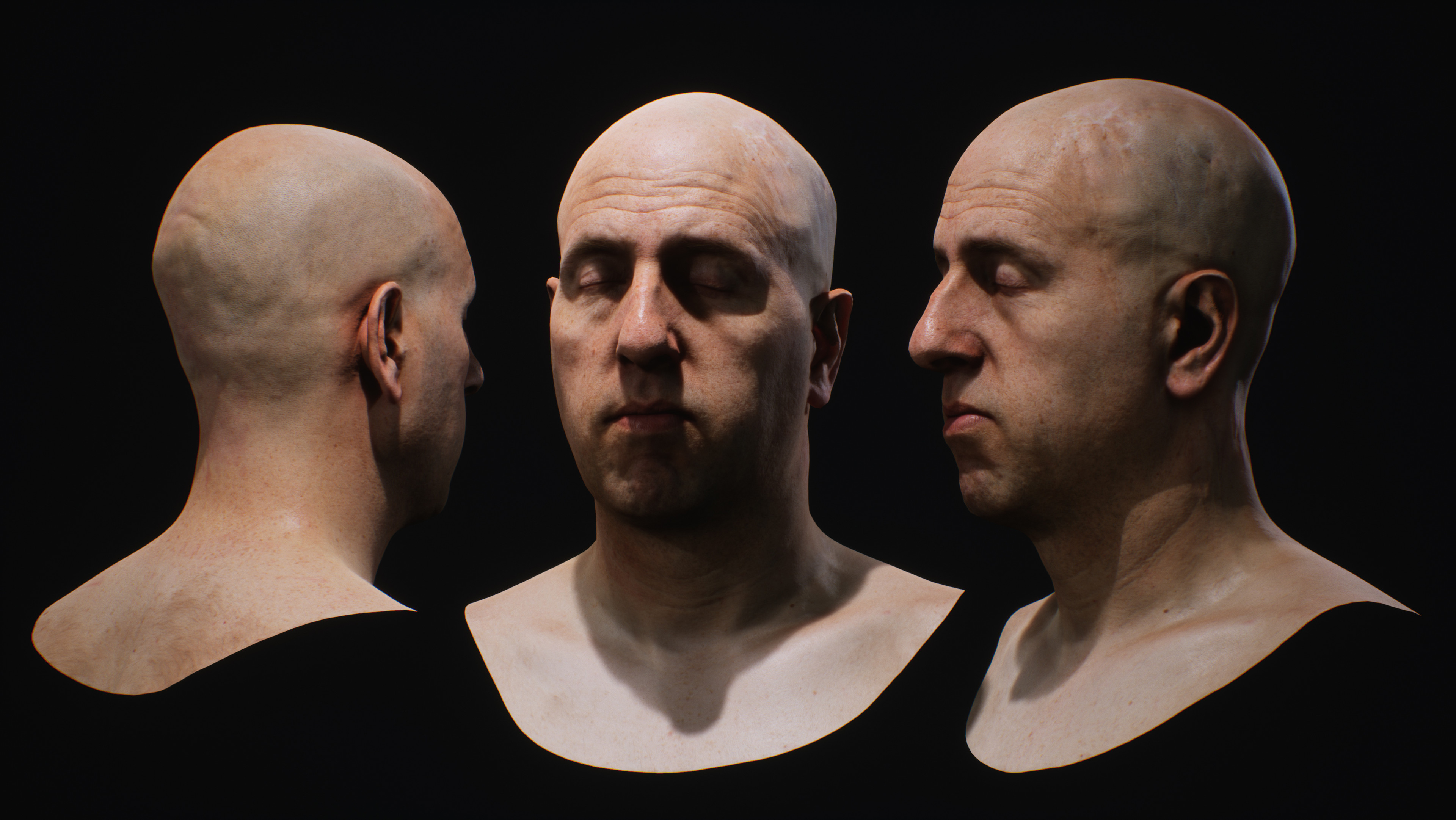 Only responsible for shader/lighting, model/texture by James Busby