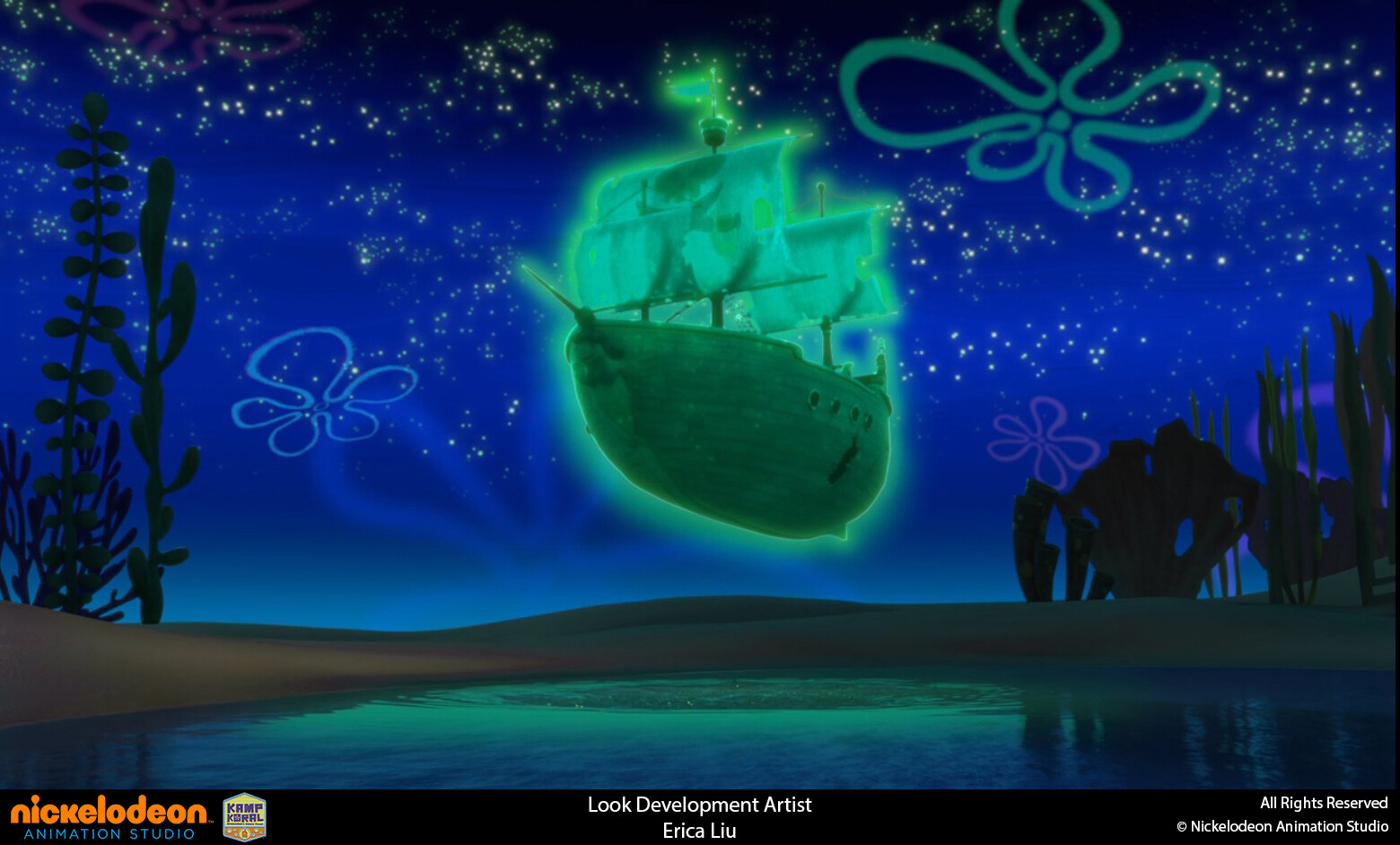 Responsible for look development and texture of the Flying Dutchman's Ship