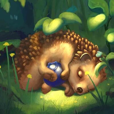 Jacie dannhardt 8 21 hall hedgehog