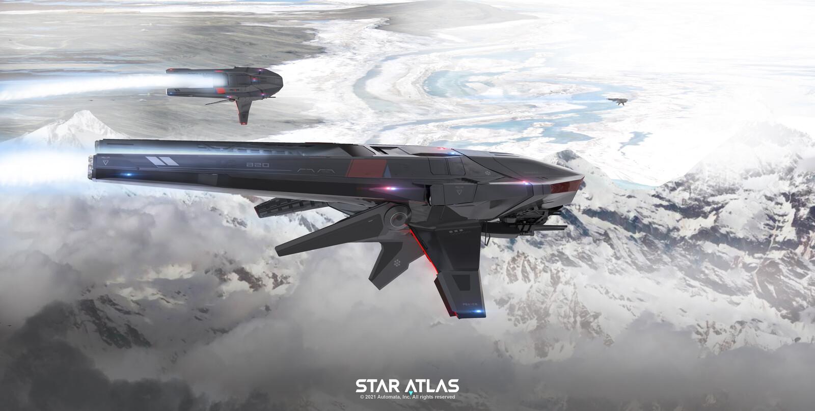 Star Atlas: Pearce F4 Fighter
