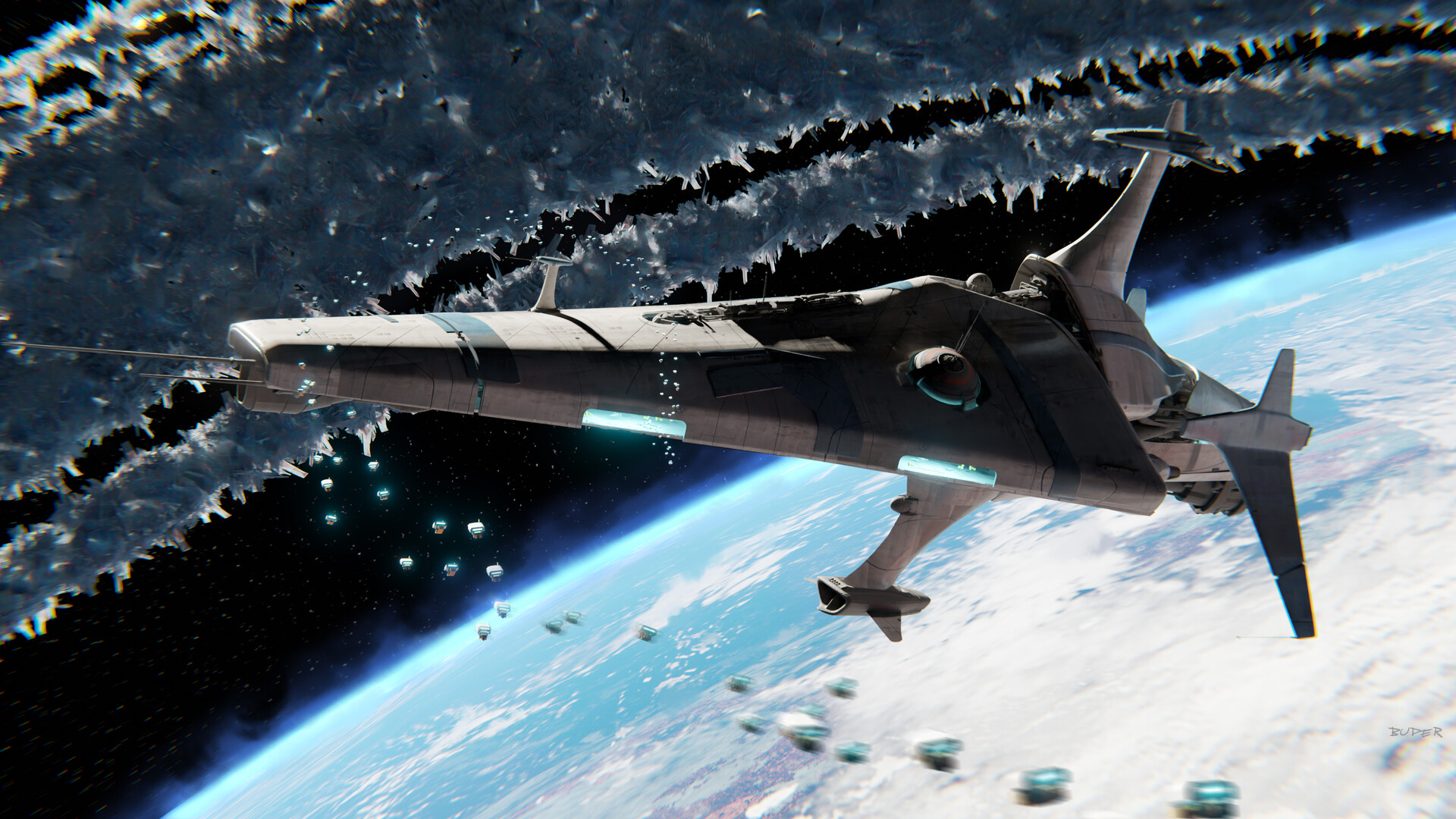 Deep Space Research Ship