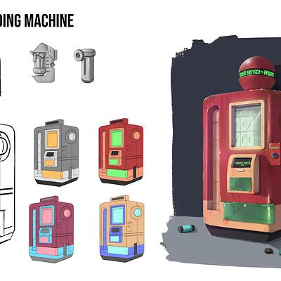 Vending machine's weapons - Concept