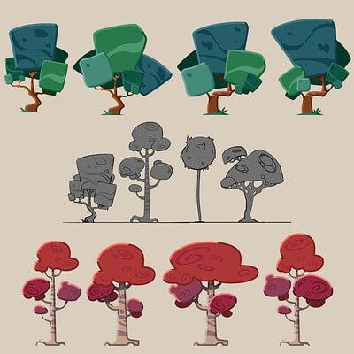 Adrian bara trees