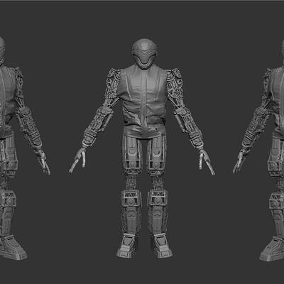 Robot Fashion #5
