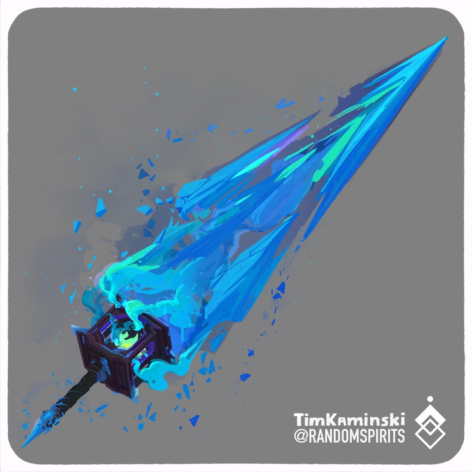 Swordtember Day 4 ❄️Glacial❄️