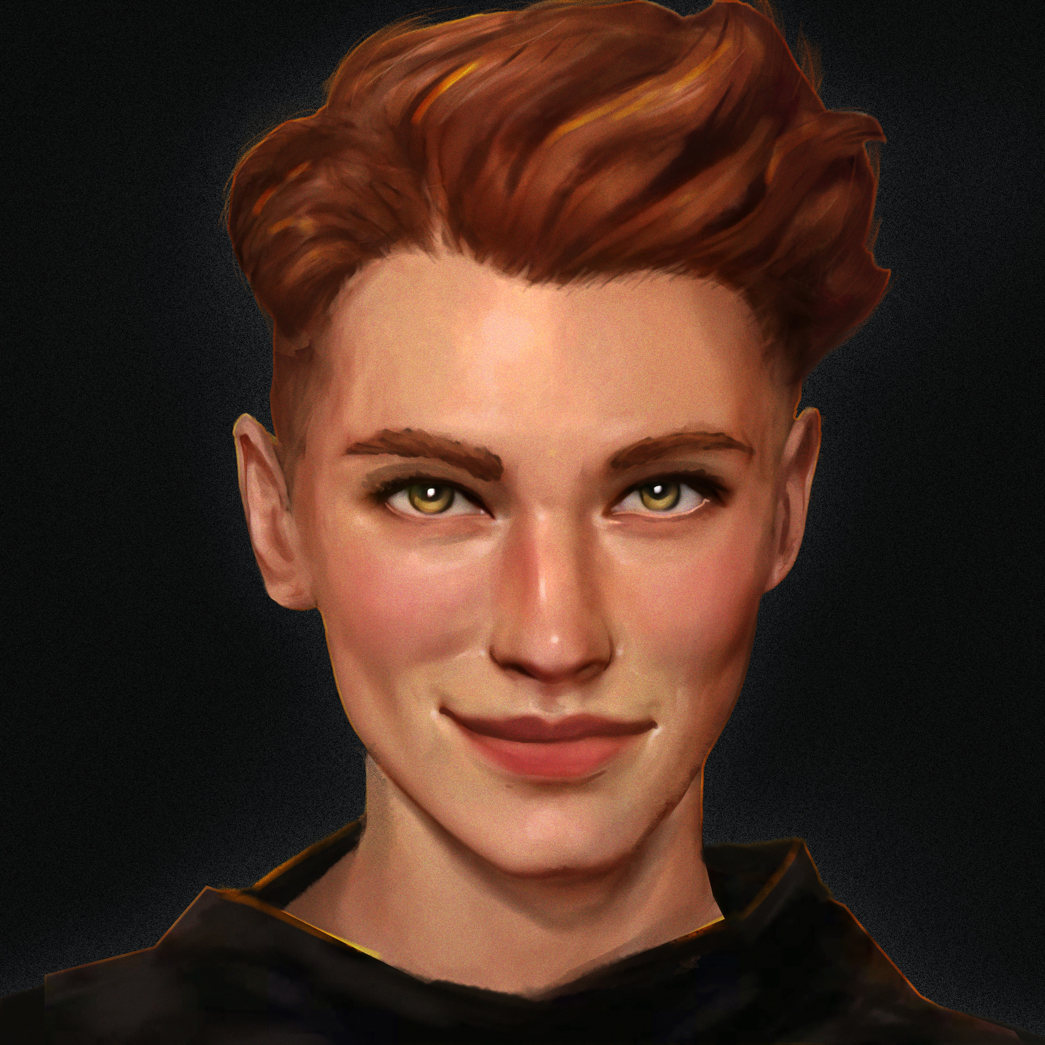 Gideon without face paint