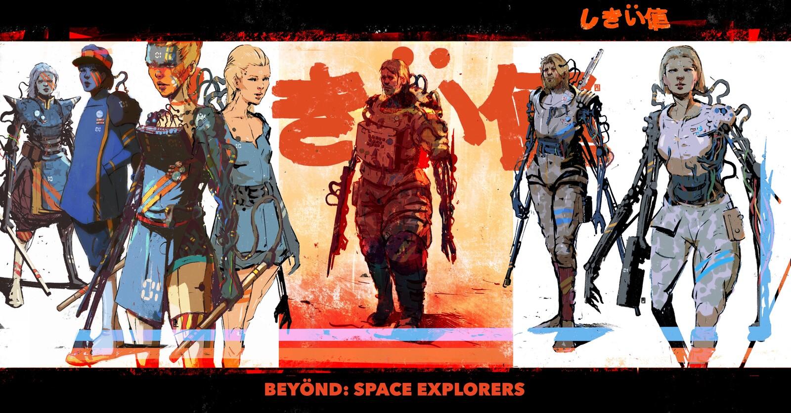 Space Explorers//Beyönd//Characters Batch//01