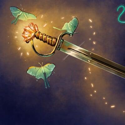 Magical kaleidoscope swordtember 2021 2