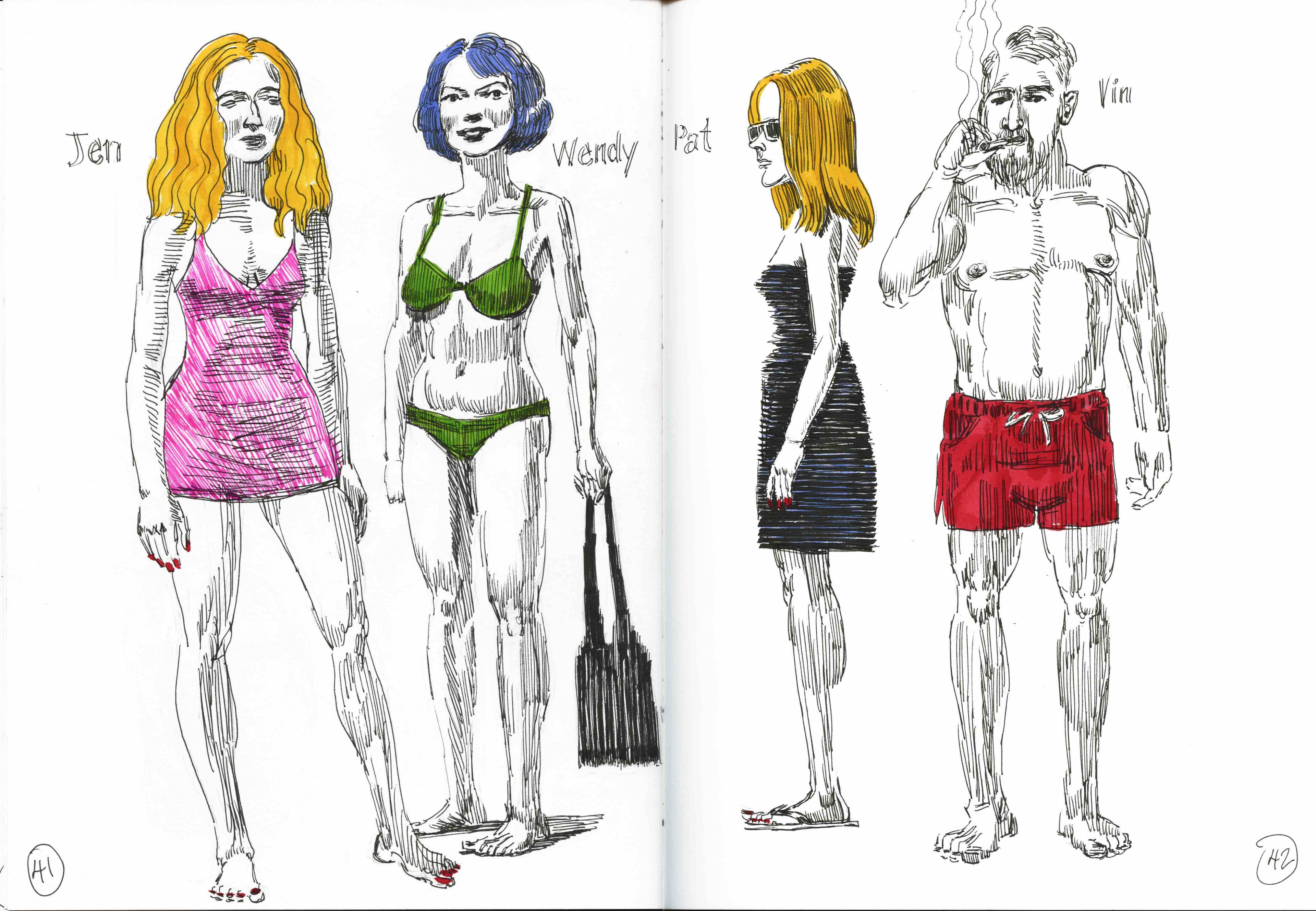 Character Studies by Vince Mancuso