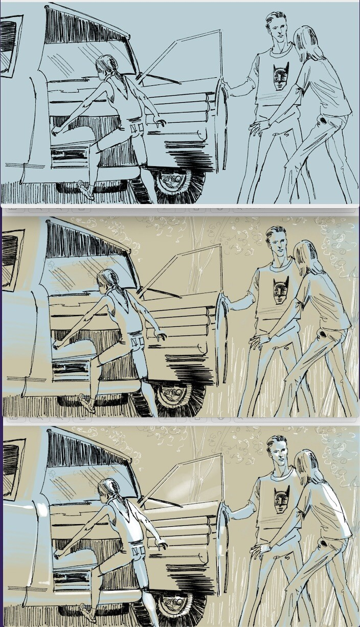 Project 17: Repeat project 16 and add 3D vales throughout the storyboard.