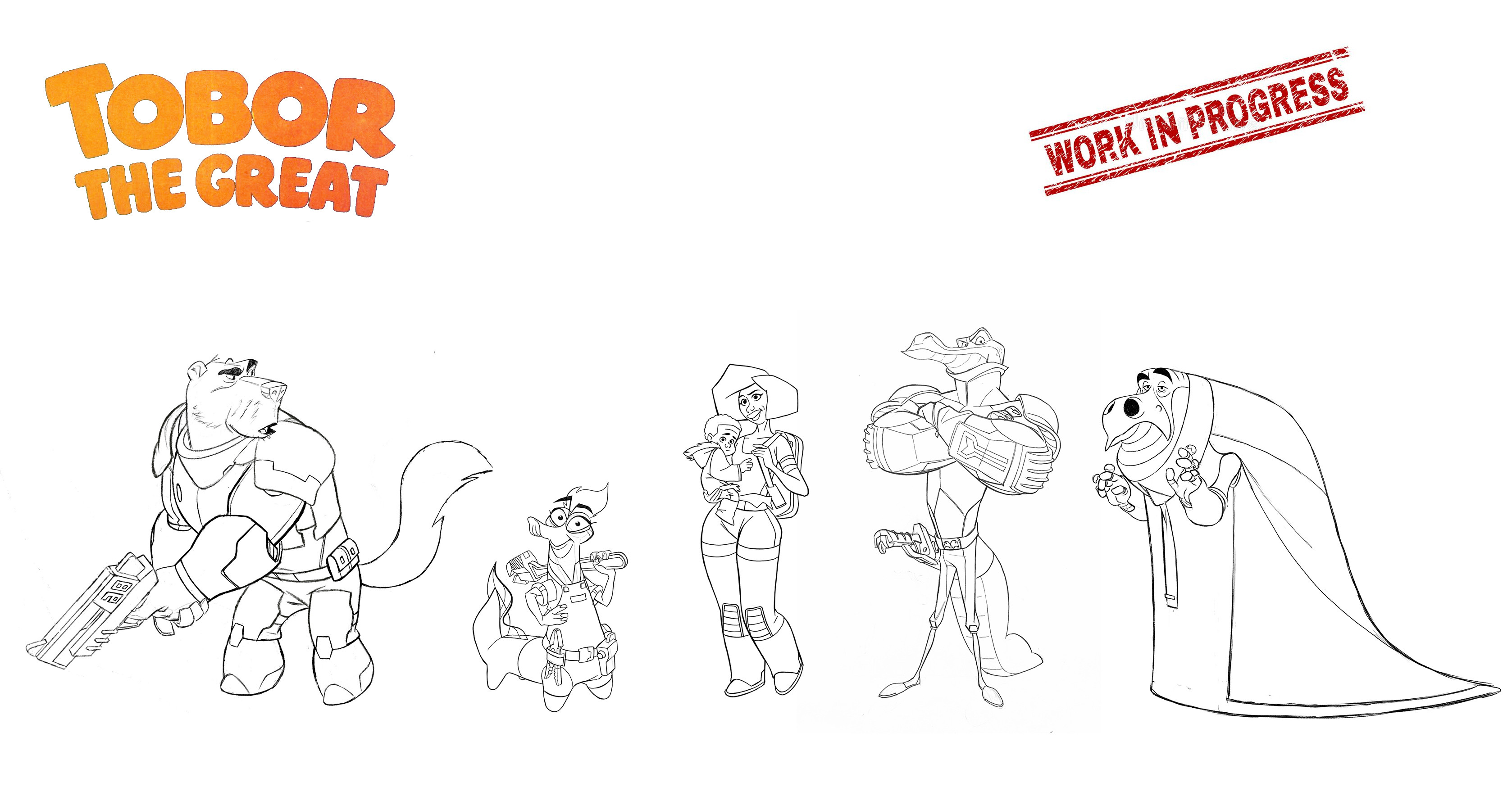 Still working on this SciFi line-up.
