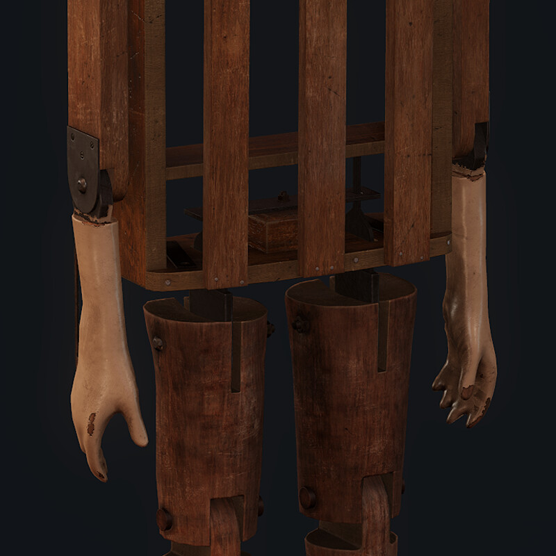 Old ventriloquist puppet - (Horror Bedroom)