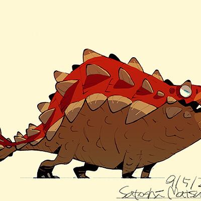 Satoshi matsuura 2021 07 13 ankylosaurus s