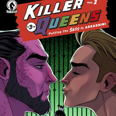 Chris ables killer queens issue 2 variant cover