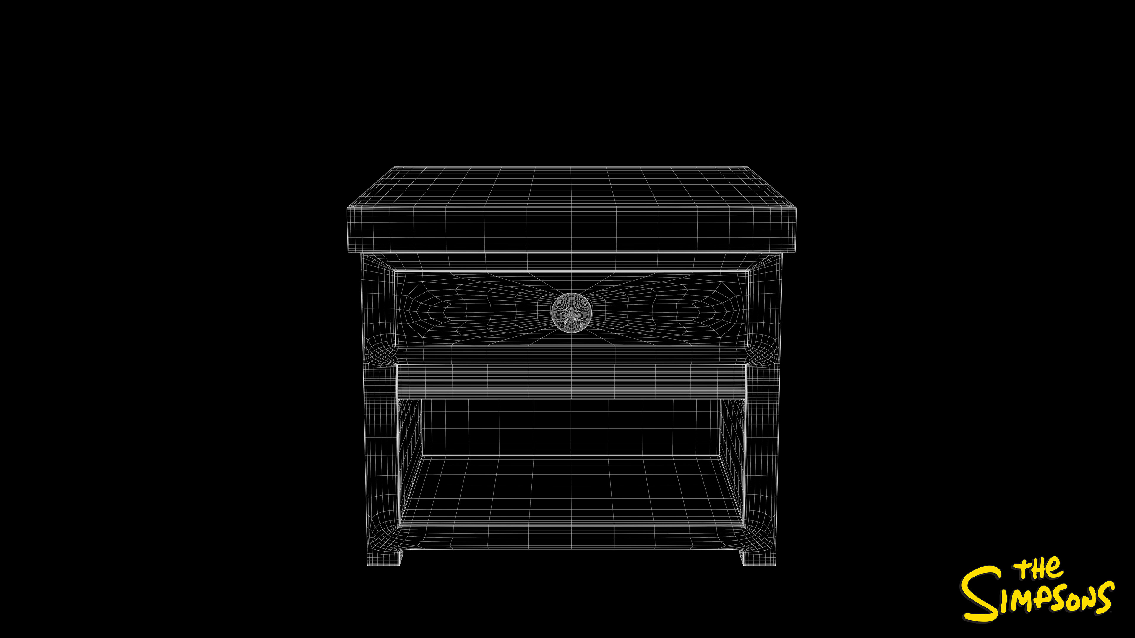 Side Table Wireframe