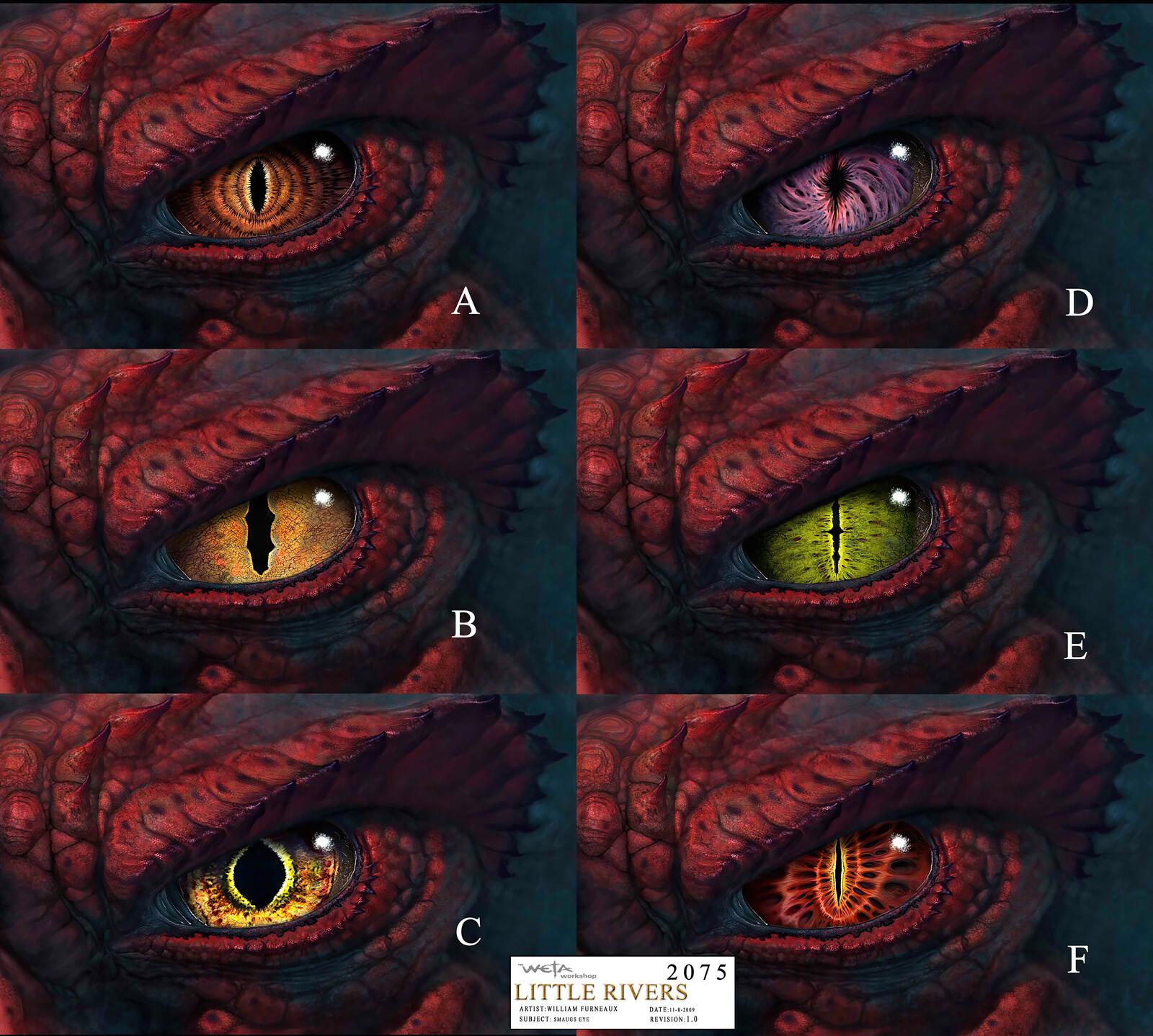 Hobbit - Smaug eye