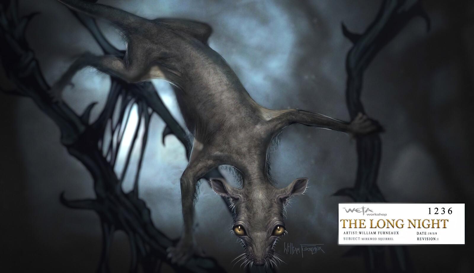 Hobbit - Mirkwood Squirrels