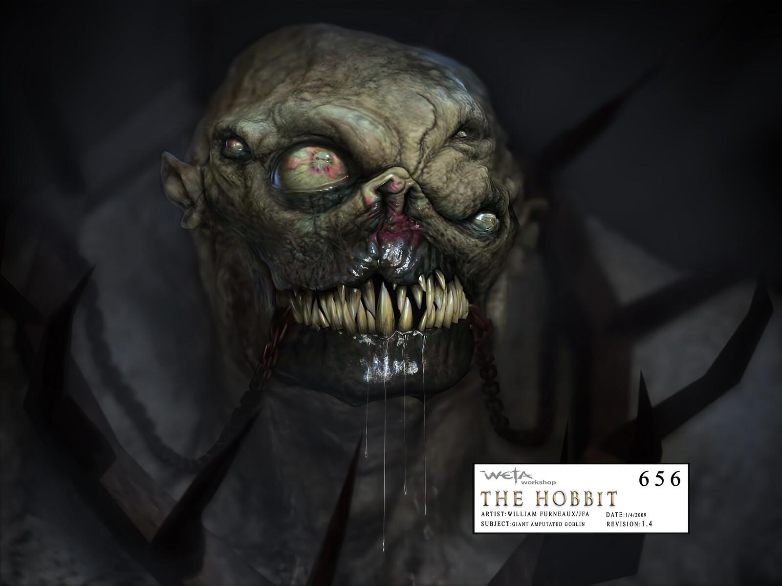 Hobbit - Giant Mutant Goblin