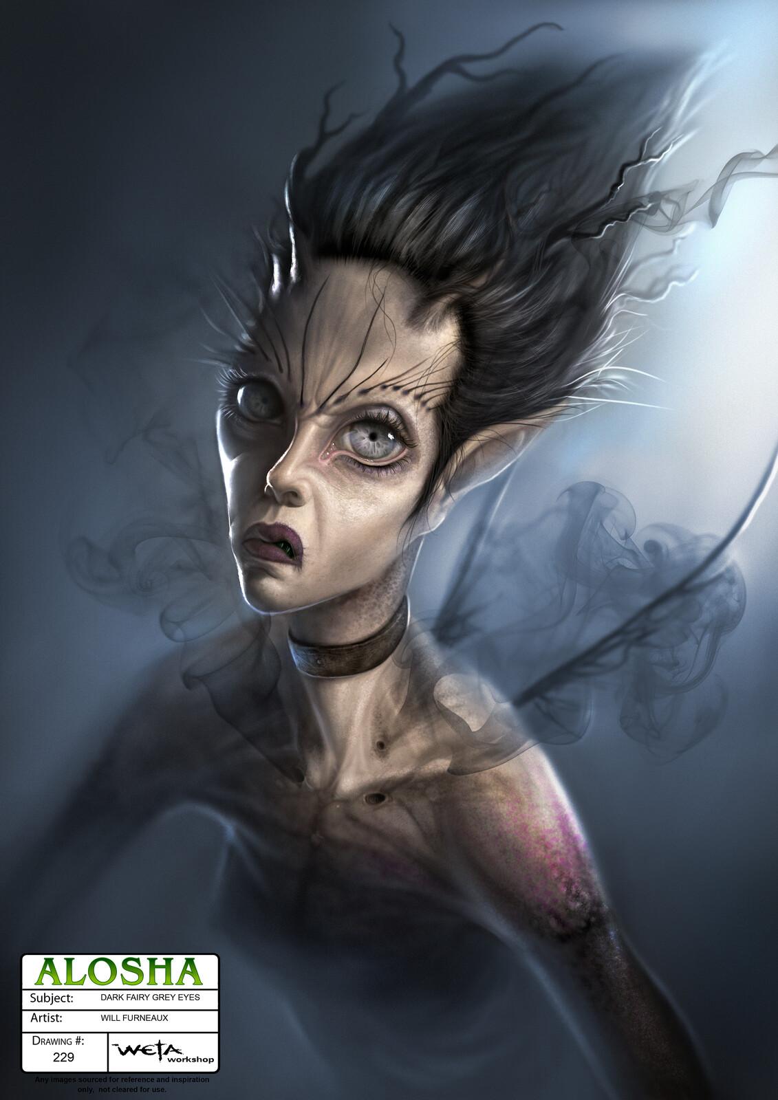 Alosha - Dark Fairy Concepts